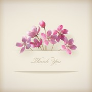 Link toPink flowers cards vector 05