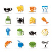 Link toElements of food icons set 03