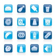 Link toElements of food icons set 04