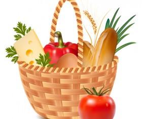 Vector Food packaging elements 03