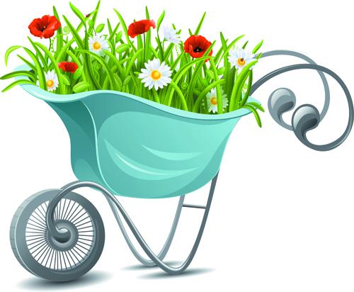 Gardening Tools vector 02