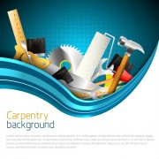 Link toHand tools vector backgrounds 04