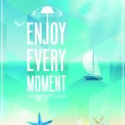 Link toHappy summer design elements vector 02
