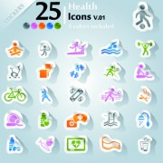 Link toIcons stickers vector 16