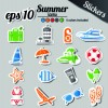 Icons stickers vector 05
