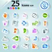 Link toIcons stickers vector 06