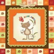 Link toCute kid card design vector 02