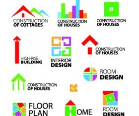 Modern Logos design elements vector 02