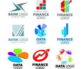 Modern Logos design elements vector 04
