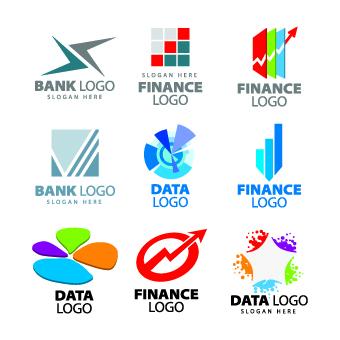 Modern Logos design elements vector 04 free download