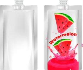 Packing juice design vector 01