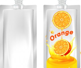 Packing juice design vector 02