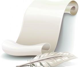 Paper Scrolls vector 01