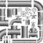 Link toSet of pipeline parts vector 01