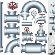 Link toSet of pipeline parts vector 02