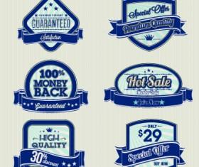 Retro High quality labels 01
