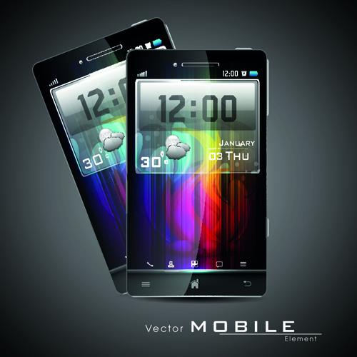 Smartphone design template 02