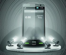 Smartphone design template 04