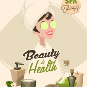 Link toSpa therapy and beauty vector 03