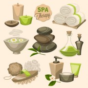 Link toSpa therapy and beauty vector 05