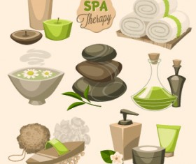 Spa therapy and beauty vector 05