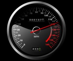 Speedometer vector set 01