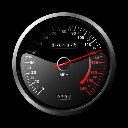 Speedometer vector set 01 free download