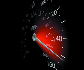 Speedometer vector set 03