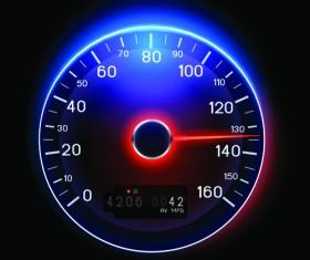 Speedometer vector set 04