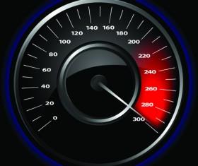 Speedometer vector set 05