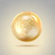 Link toShiny spheres design vector 03