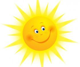 Sun icons design elements 05