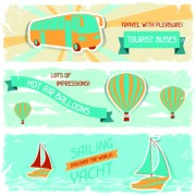 Link toTransport banners vector 02