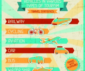 Transport banners vector 04