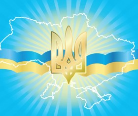 Different Ukraine symbols vector 02