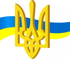 Different Ukraine symbols vector 04