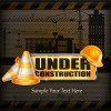 Under Construction design elements vector 05