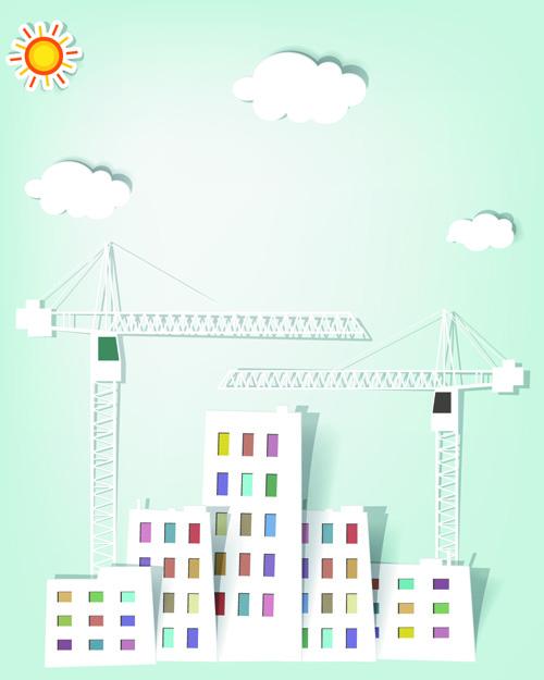 Vector Urban Landscapes set 01