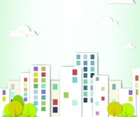 Vector Urban Landscapes set 03