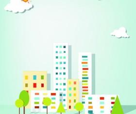 Vector Urban Landscapes set 05