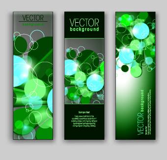 shiny vertical banner vector 03 – over millions vectors