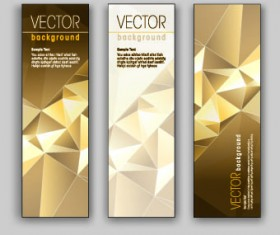 Shiny Vertical banner vector 04