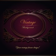 Link toPurple vintage backgrounds vector set 02