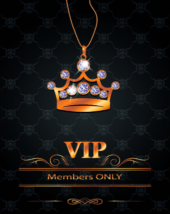 Luxury Vip Invitation Cards 01 Vector Card Free Download
