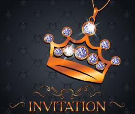Luxury VIP invitation cards 04
