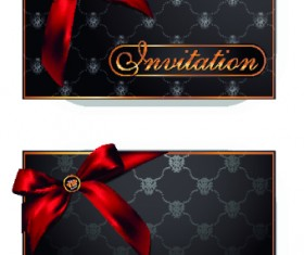 Luxury VIP invitation cards 05
