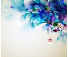 Creative Watercolor tree vector 02