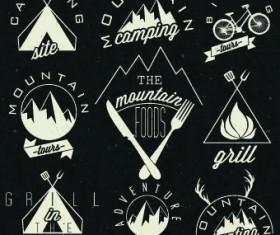 Restaurant and cafe logos design vector 02
