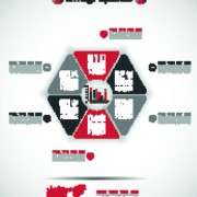 Link toCreative infographic vector set 04