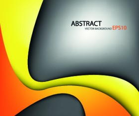 Dynamic curves vector background 01